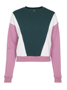 Urban Classics sweater CREW NECK SWEATER TB2461 JASPER/PINK/WHITE