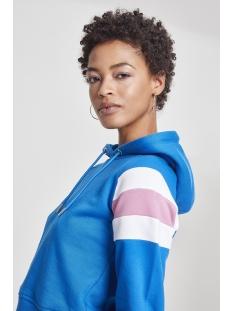 sleeve striped hoody tb2459 urban classics sweater blue/white/pink
