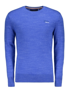 Superdry Trui ORANGE LABEL CREW M61083KQF7 AZURE BLUE GRINDLE