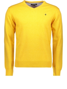 Haze & Finn Trui KNIT V MC11 0200 GOLDEN ROD