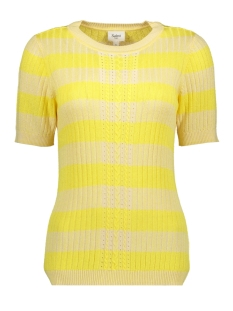 Saint Tropez T-shirt KNIT PULLOVER 1/2 SLEEVE T2556 2120 YELLOW