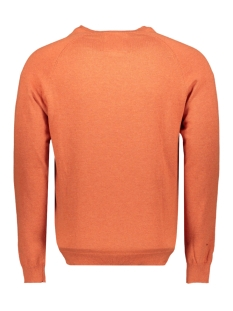 orange label cotton crew m6100025a superdry trui bright sienna orange marl