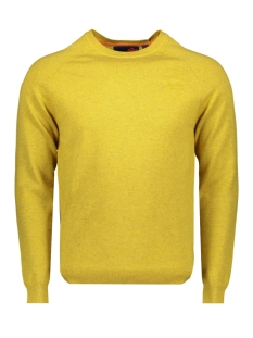 orange label cotton crew m6100025a superdry trui sulphur yellow marl