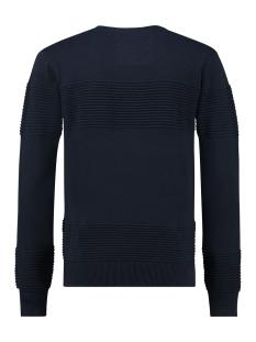 knit o ottoman rib mu12 0211 haze & finn trui navy
