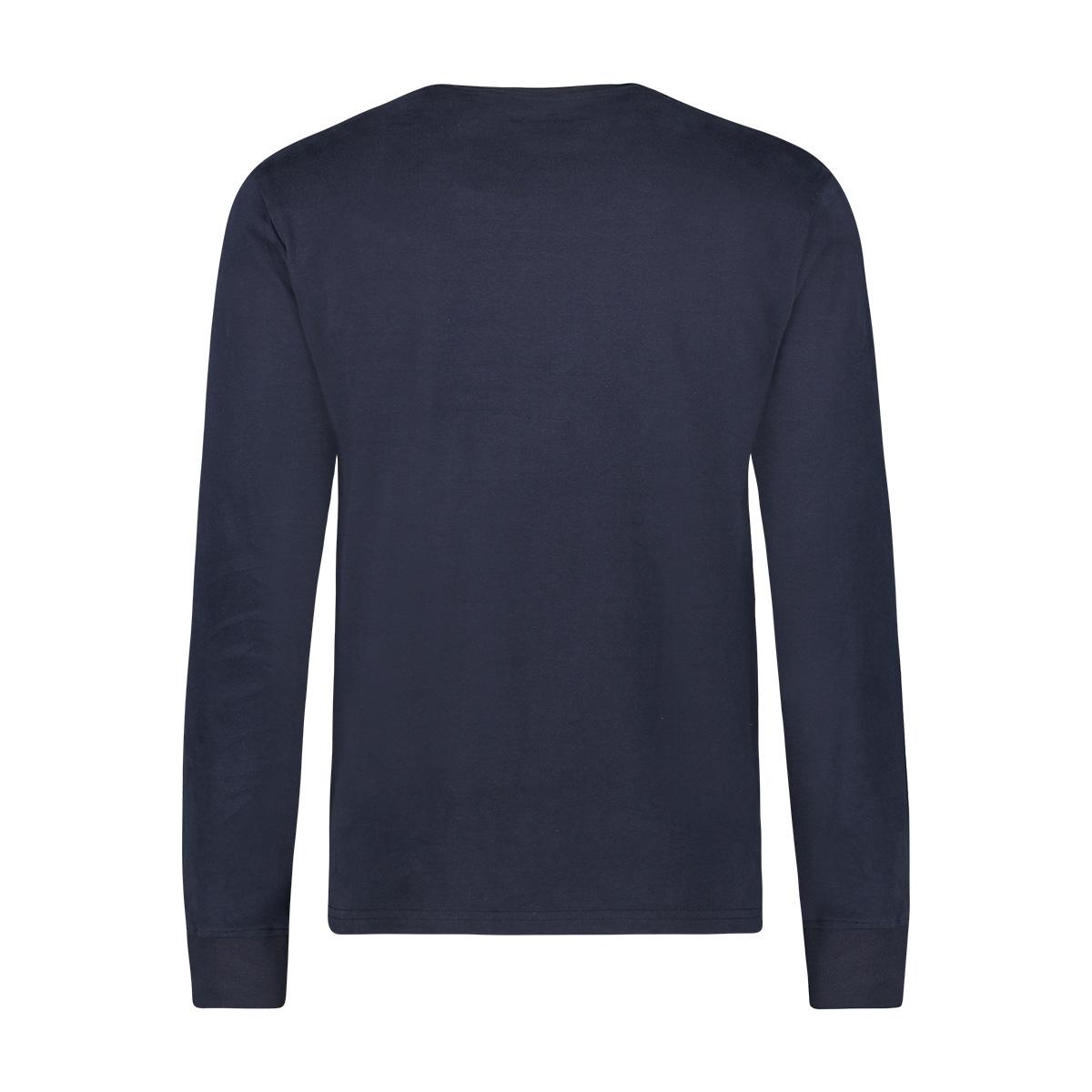 tee quote ls mu12 0003 haze & finn t-shirt dark navy