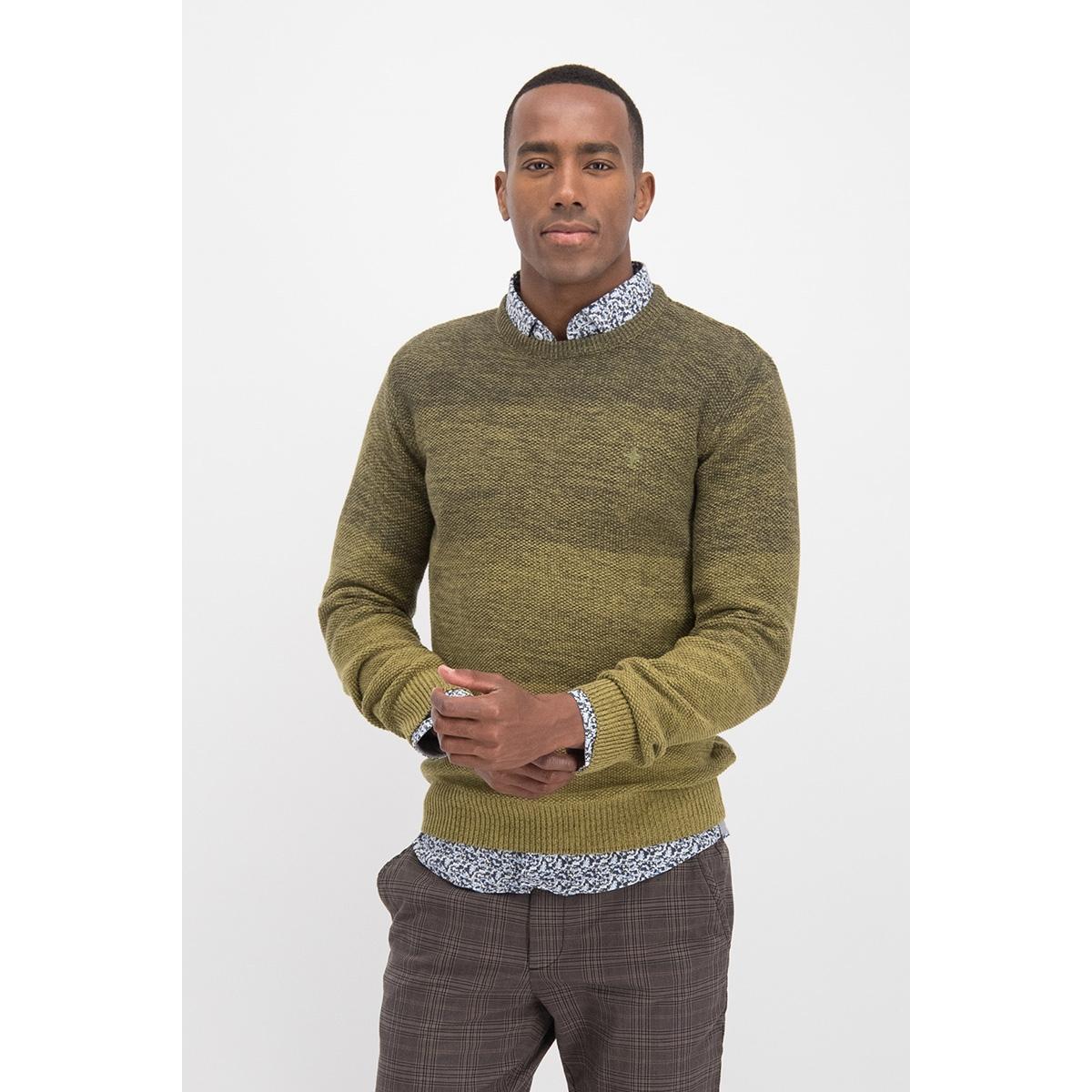 knit o degrading mc12 0202 haze & finn trui green moss to army green