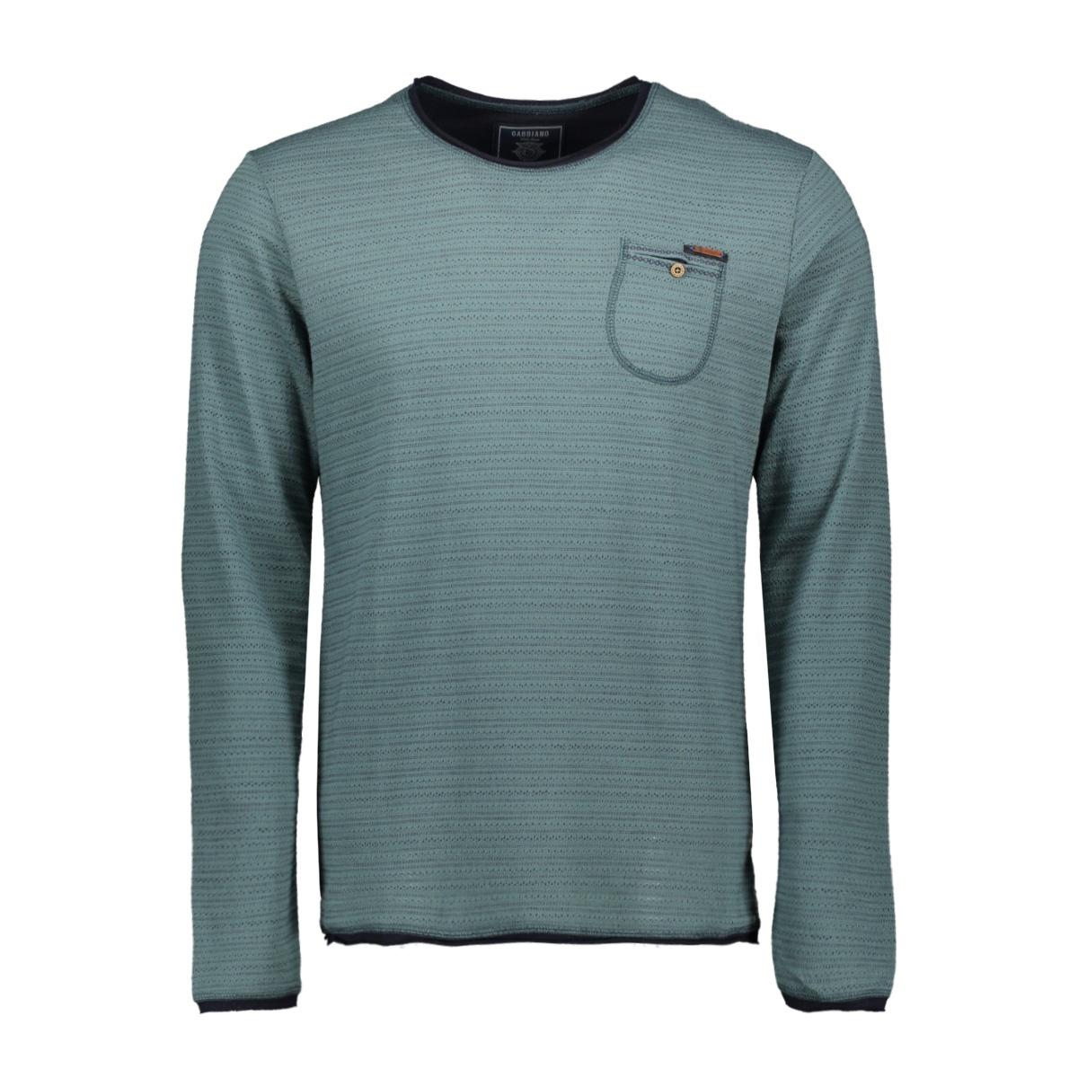 longsleeve 15162 gabbiano t-shirt green