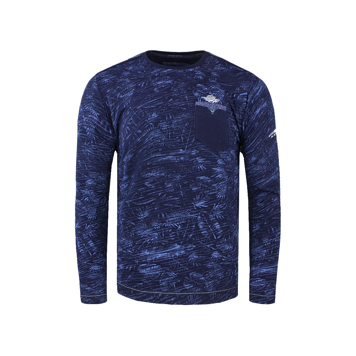 longsleeve 15166 gabbiano t-shirt navy