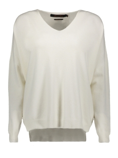 Goût d'Anvers Trui KNIT V NECK SOFT  GDA120200 OFF WHITE