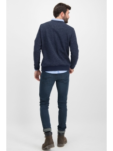 sweat structure mu12 0404 haze & finn sweater navy lgm 2 tone
