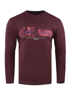 longsleeve 15160 gabbiano t-shirt bordeaux