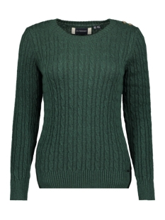 Superdry Trui CROYDE CABLE KNIT W6100007A EMERALD GREEN
