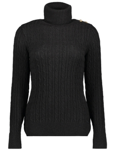 Superdry Trui CABLE ROLL NECK W6100008A BLACK