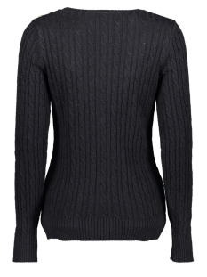 croyde cable knit w6100007a superdry trui rinse navy