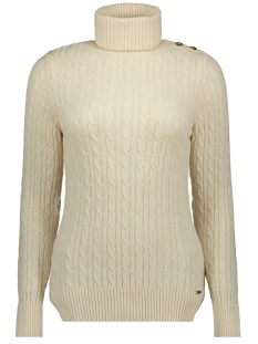 cable roll neck w6100008a superdry trui winter marl