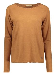 Smith & Soul T-shirt BASIC SWEAT 0919 1013 907 COGNAC