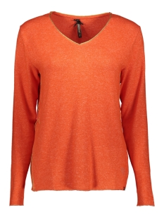 Key Largo T-shirt WLS LENA V NECK WLS00188 ORANGE