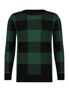 Kultivate Trui KN LUMBERJACK 1901040800 428 Dark Green