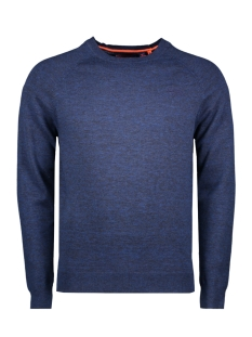 Superdry Trui ORANGE LABEL COTTON CREW M6100025A OCEAN CITY BLUE GRINDLE