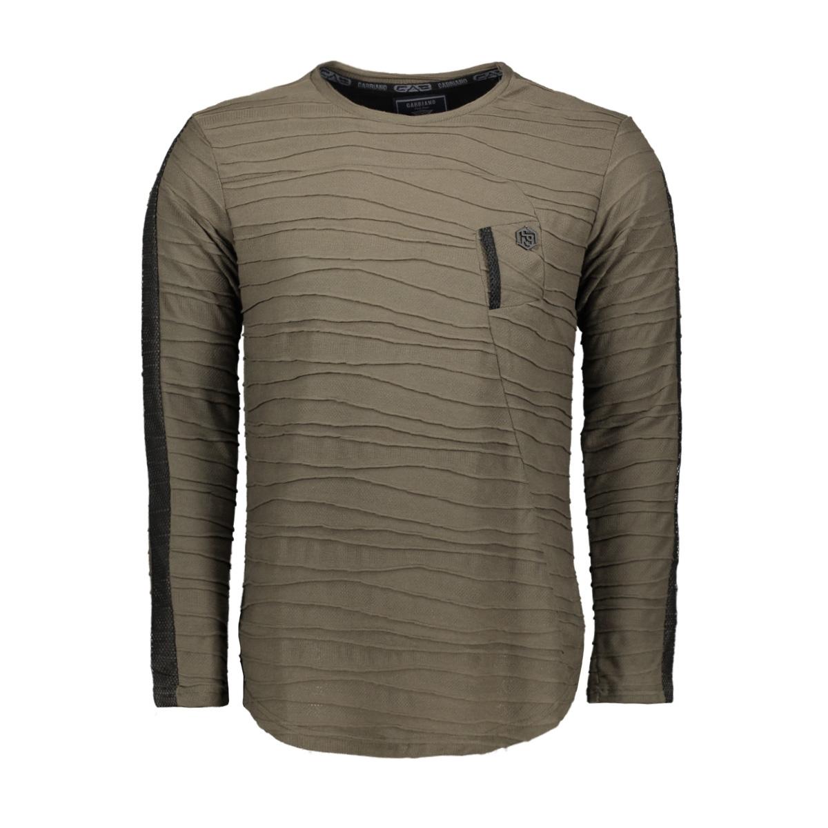 longsleeve 15164 gabbiano t-shirt army