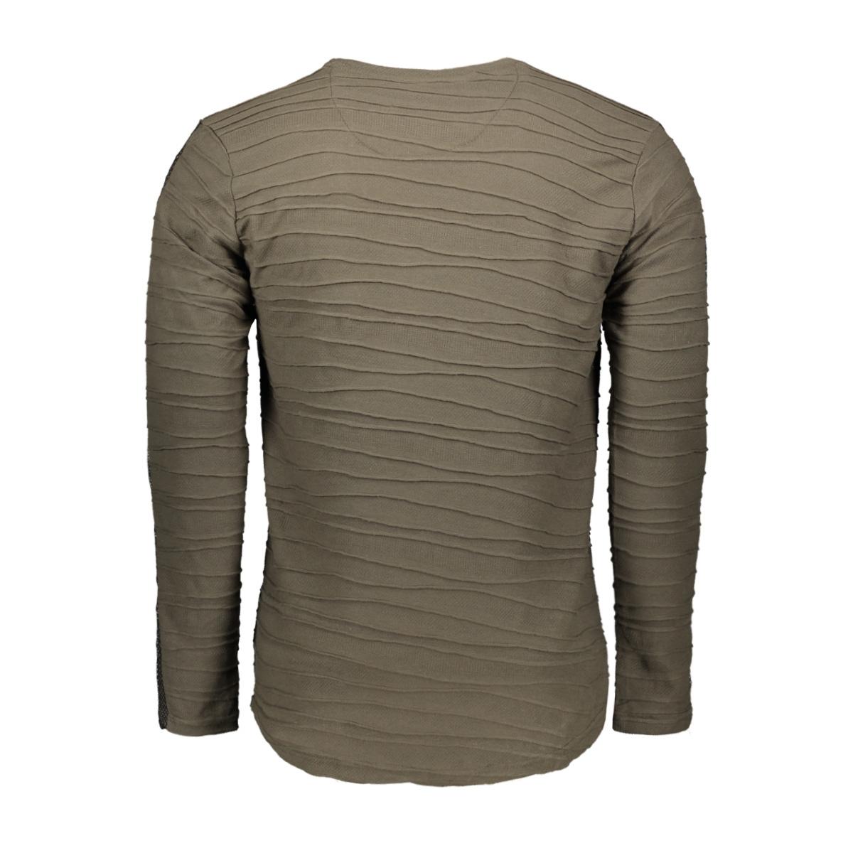 longsleeve 15167 gabbiano t-shirt army