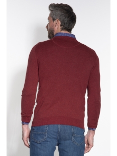 classic pullover v hals 050098 campbell trui 002 donkerrood