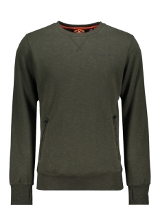 Superdry sweater URBAN ATHLETIC CREW M2000063A SURPLUS GOODS OLIVE SLUB