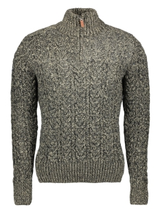 Superdry Trui JACOB HENLEY M61004MR STOVEPIPE GREY TWIST