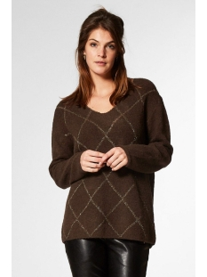 Circle of Trust Trui TAVI KNIT W19 89 3099 RAW UMBER