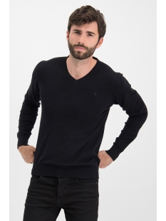 Haze & Finn Trui KNIT V ME 0200 BLACK