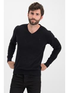knit v me 0200 haze & finn trui black