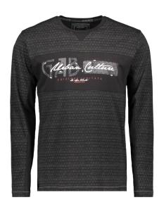 longsleeve 15160 gabbiano t-shirt black