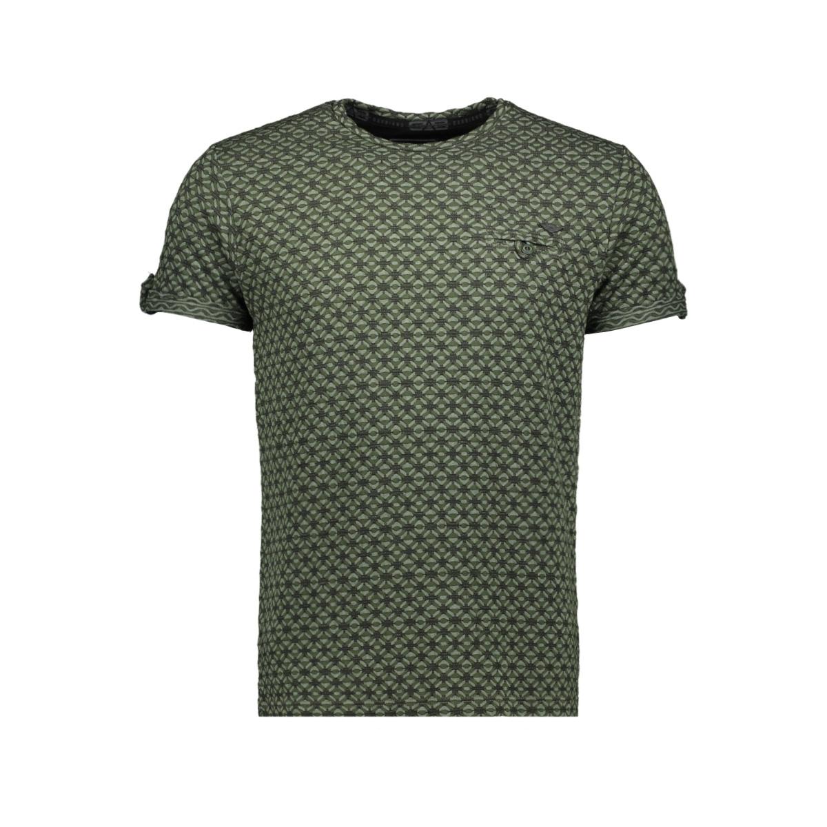 shortsleeve t shirt 15172 gabbiano t-shirt army