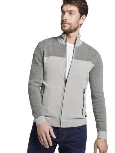 Tom Tailor Vest GEBREID JACK MET TEXTUUR 1015182XX10 20850