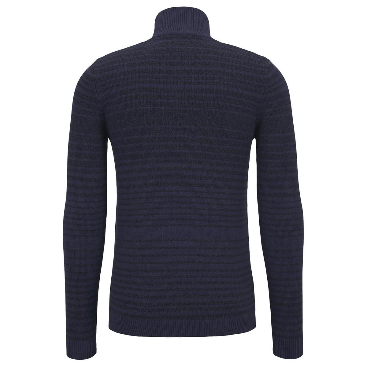 gestreept gebreid jack 1015186xx10 tom tailor vest 21514