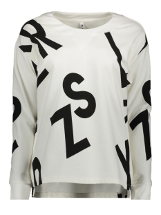 Zoso sweater 195 ALDA OFFWHITE / BLACK
