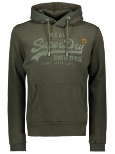 Superdry sweater TONAL TAPE HOOD M2000138A SURPLUS GOODS OLIVE
