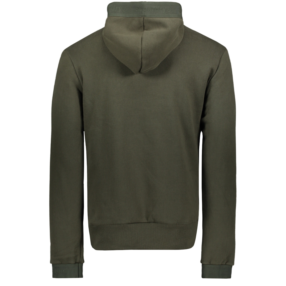 tonal tape hood m2000138a superdry sweater surplus goods olive