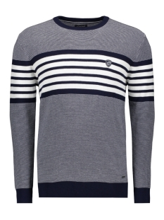 knitwear  bexley 052960 campbell trui 001 navy