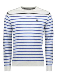 knitwear  harold 052964 campbell trui 212 mid grey / navy