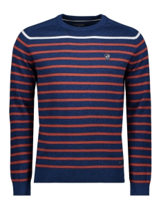 Campbell Trui KNITWEAR  HAROLD 052964 382 NAVY / RED