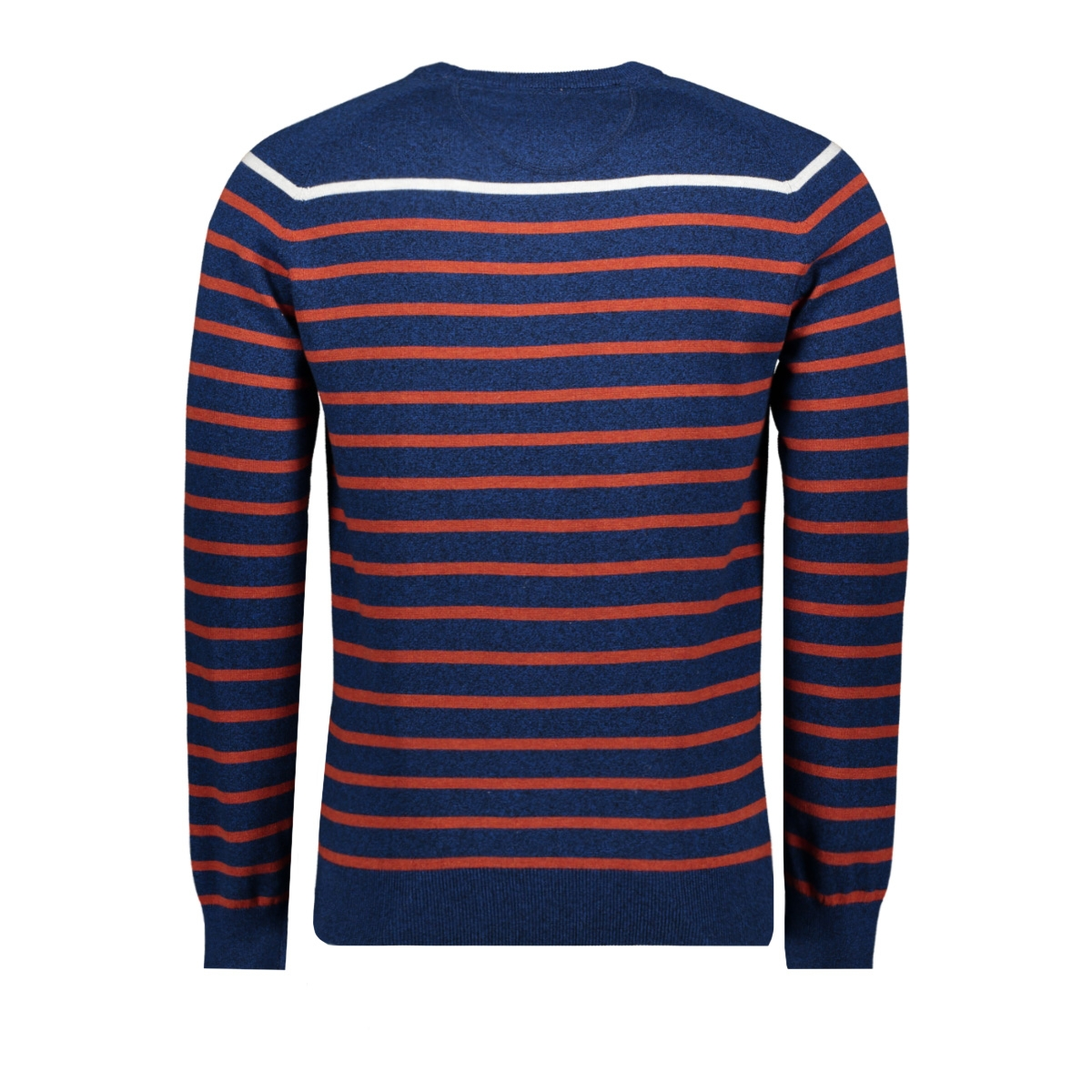 knitwear  harold 052964 campbell trui 382 navy / red