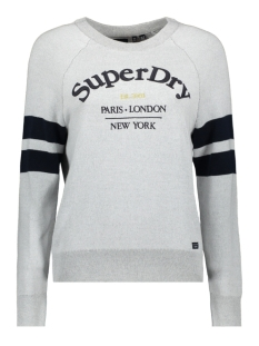 Superdry Trui AMY LOGO KNIT W6110032A ICE MARL