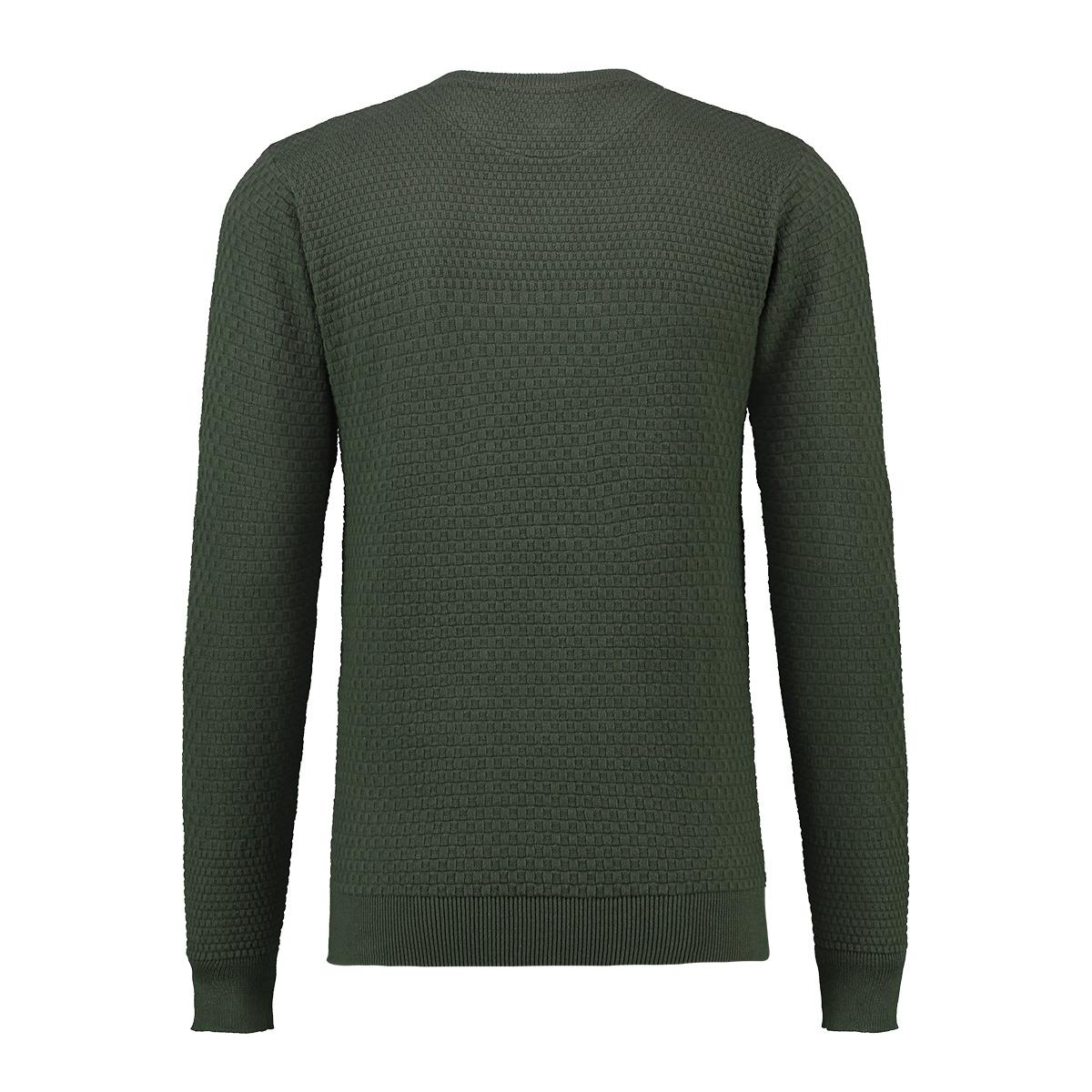 knit light structure mu13 0207 haze & finn trui army green