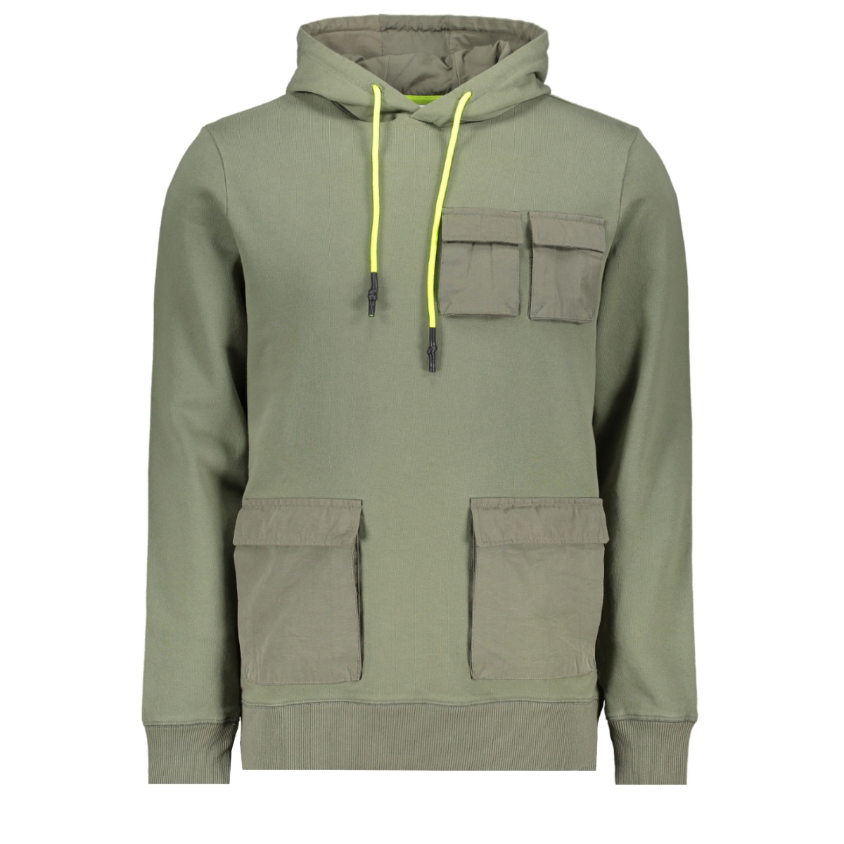utility hoodie 20010303 purewhite sweater 10 army green