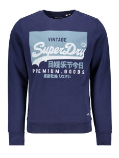 Superdry sweater VL O CREW UB M2010153A RICH NAVY