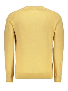 classic knitwear 052958 campbell trui 003 donkergeel uni