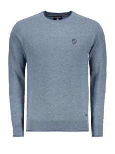 classic knitwear 052958 campbell trui 001 middenblauw
