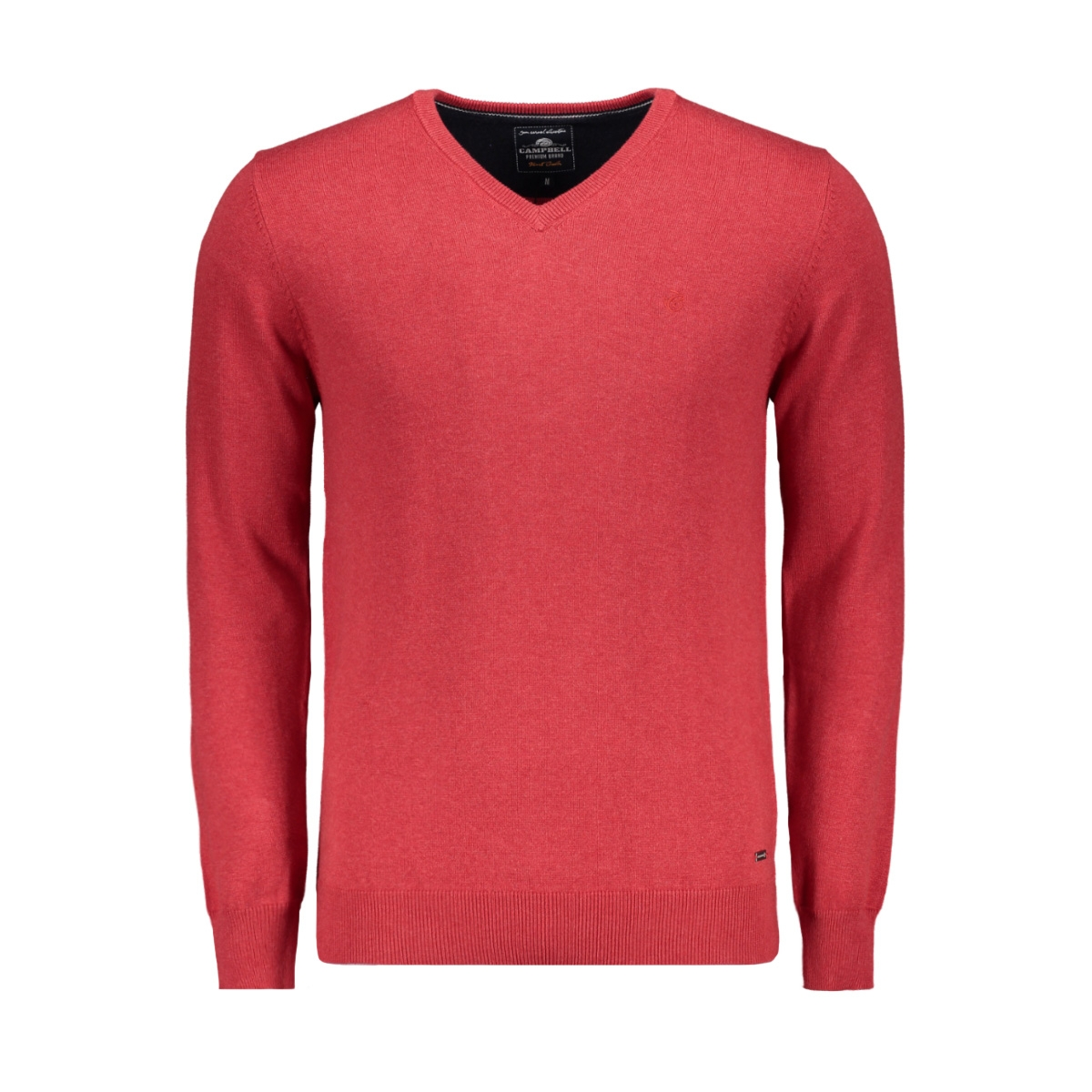 classic knitwear 052965 campbell trui 006 donkerrood uni