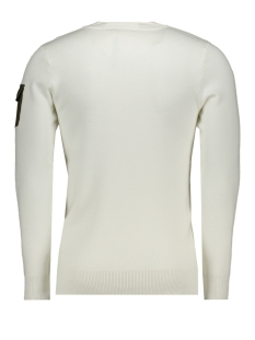 knitted utility crewneck 20010814 purewhite trui 45-off white